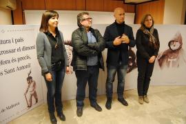 Manacor presenta los grabados de Toni Galmés, cedidos con motivo de las fiestas de Sant Antoni
