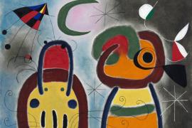 Un óleo de Miró de 1953 lidera una subasta de arte surrealista en Christie's