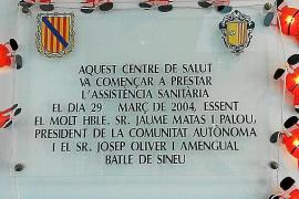 Proponen retirar el nombre de Jaume Matas de las placas de Sineu