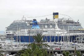 Palma recibe en enero la visita semanal de dos buques con más de 8.000 turistas