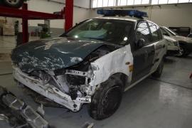 Heridos dos guardias civiles al ser embestido su coche por otro de un policía