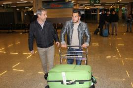Joselu llega a Palma para concretar su fichaje con el Mallorca
