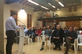 Joan Campins, candidato del PP a la alcaldía de Consell