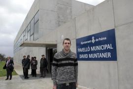 El pabellón del Secar de la Real ya se llama David Muntaner