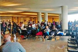 Más de ocho horas de espera en Palma para un vuelo de 30 minutos