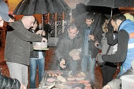 Frío y lluvia para los días previos a Sant Sebastià