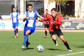El Mallorca B derrota al Alcoyano con diez