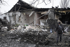 Las esperanzas de paz en Ucrania mueren en el aeropuerto de Donetsk