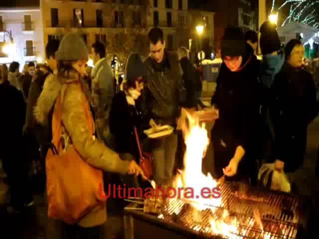 Palma vive Sant Sebastià