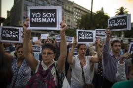 La muerte de Nisman saca a Argentina a la calle para pedir verdad y justicia