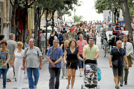 El turismo español superó en Balears al británico por la mejora económica en 2014
