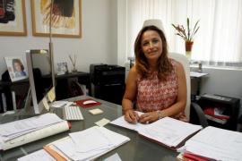 Aina Castillo se niega a declarar a las preguntas de la comisión de Son Espases