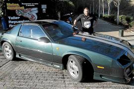 Luis Vidal pone a la venta su Camaro de 1992