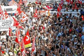 Fuerte movilización en Francia contra la reforma de las pensiones