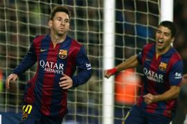 El Barcelona vence al Atlético con gol de Messi en la ida de cuartos de la Copa del Rey