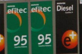 Los carburantes continúan a la baja y caen a niveles de marzo de 2010