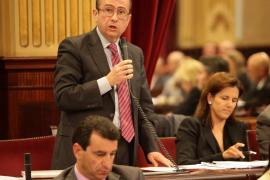 El PP no quiere que Bauzá dé explicaciones en el Parlament sobre la sede del partido
