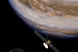 Tres grandes lunas de Júpiter proyectarán este viernes su sombra en el planeta