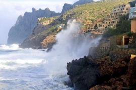 Alerta amarilla en Mallorca y naranja en Menorca por fenómenos costeros
