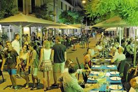 Cort rechaza que las terrazas ocupen más del 50 % de la calle