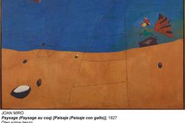 El Reina Sofía incorpora un Miró prestado por la Fundación Beyler