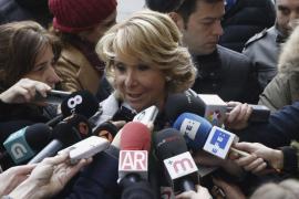 Aguirre sobre el discurso de Aznar: «a mí me gustó muchísimo»