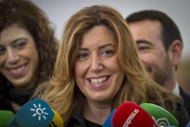 Susana Díaz: «El único tren que voy a coger es el de Andalucía»