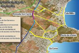 Sant Llorenç reivindica la nueva vía verde