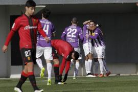 El Valladolid ridiculiza al Mallorca