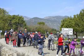 Centenares de vecinos de Alaró y Consell piden una vía verde