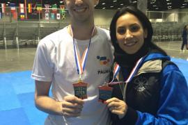 Oro para Rosillo y plata por lesión para Yagüe en el 'US Open' de taekwondo