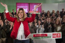 Susana Díaz comunica a IU el adelanto de las elecciones andaluzas