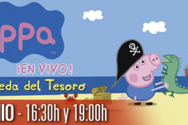 'Peppa Pig: La búsqueda del tesoro' en vivo