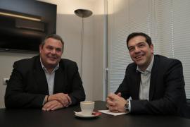 Syriza formará gobierno con Griegos Independientes, la derecha nacionalista