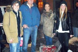 Foguerons de Sant Sebastià en Palma