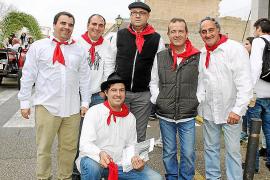 Magnífico ambiente en las fiestas de Sant Antoni de Artà