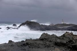 Se mantiene la alerta por temporal en la costa norte de Mallorca y en Menorca
