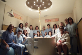 El hospital de Inca permite la entrada de un acompañante en los partos por cesárea