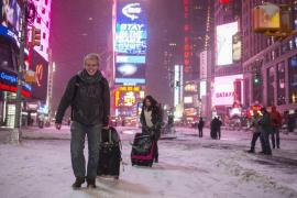 Gran nevada en Nueva York