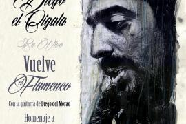 'El Cigala' presenta 'Vuelve el flamenco' en homenaje a Paco de Lucía