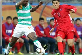 Costa de Marfil vence a Corea del Norte en un partido intrascendente