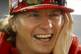 Kimi Räikkönen celebra el nacimiento de su primer hijo