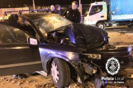 Investigan un accidente ocurrido en Palma al haber evidencias de que hay otra persona herida
