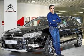 Citroën, con el ciclista Alberto Contador