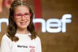 La mallorquina Martina, en la final de MasterChef Junior 2