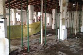 El solar municipal de Majorica se cerrará y se arreglará la nave