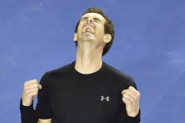 Murray atempera sus nervios para alcanzar su cuarta final en Australia