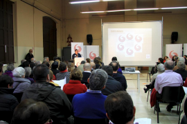 Más de 300 personas respaldan a Guanyem Palma en su asamblea constituyente
