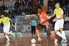El Palma Futsal se queda a medias