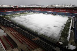 Suspendido el partido en el estadio El Sadar por nieve